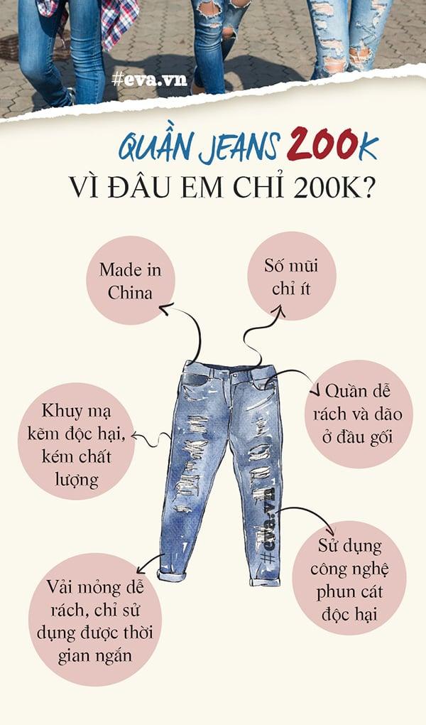 Bí mật nhà quần jeans 2
