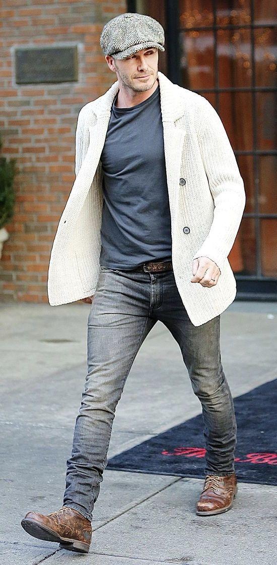 Bí quyết diện jeans chuẩn David Beckham 12
