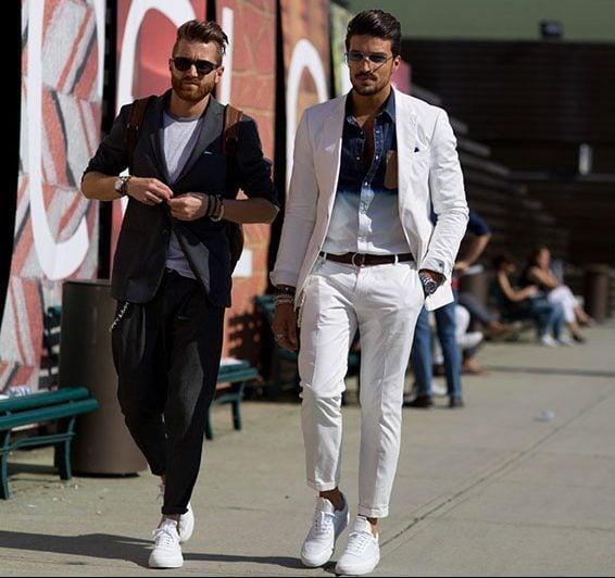 Bí quyết phối áo thun cho các chàng có chiều cao khiêm tốn 8