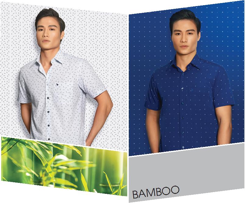 Bộ sưu tập áo sơ mi Việt Tiến Slimfit cho người trẻ 2021 3