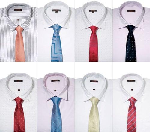 Cách chọn Caravat cho chiếc áo sơ mi trắng đúng chuẩn 4
