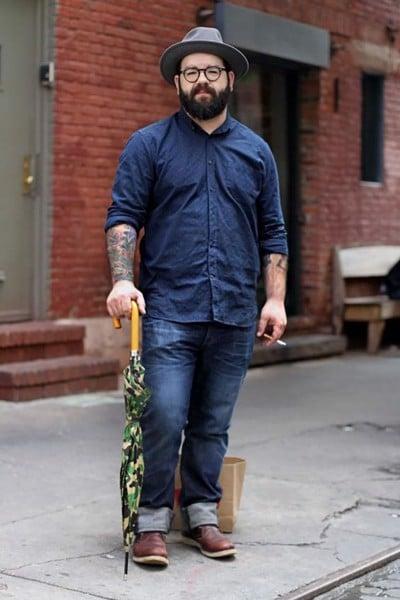 Cách chọn Quần jeans nam đẹp cho các anh béo mập 6