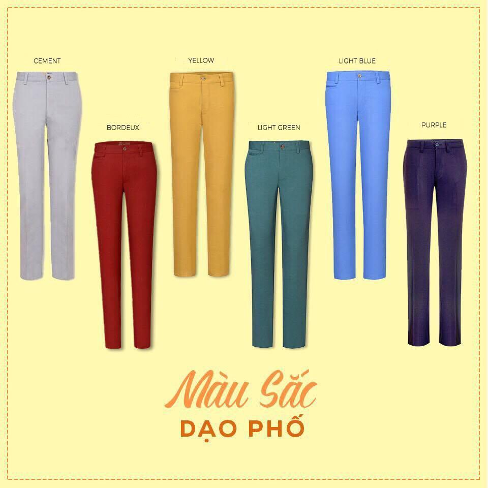 Chọn kích cỡ quần kaki nam Việt Tiến 2021 7