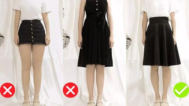 Váy công sở cho nàng đùi to