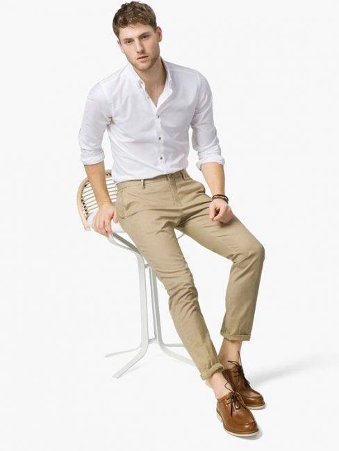 Đa phong cách với áo sơ mi trắng Việt Tiến 9