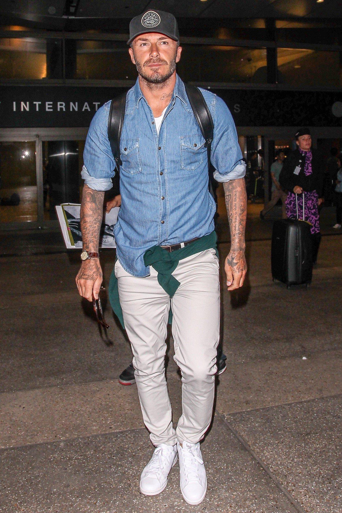 Muốn chị em ngả nghiêng, hãy mặc như David Beckham 2