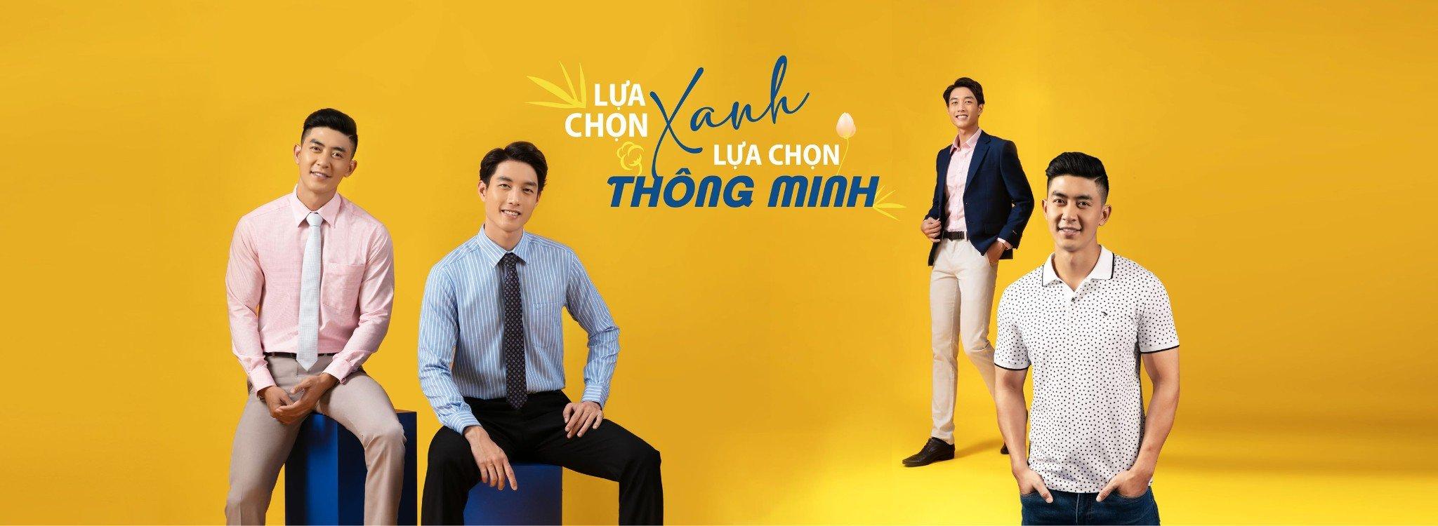 Muôn vàn cách phối đồ với quần tây nam Việt Tiến 1