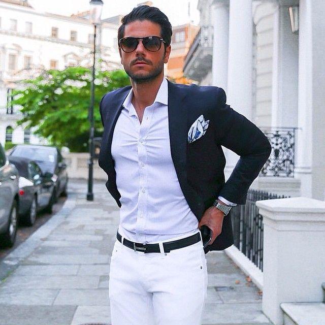 Phối đồ với quần jeans trắng 3