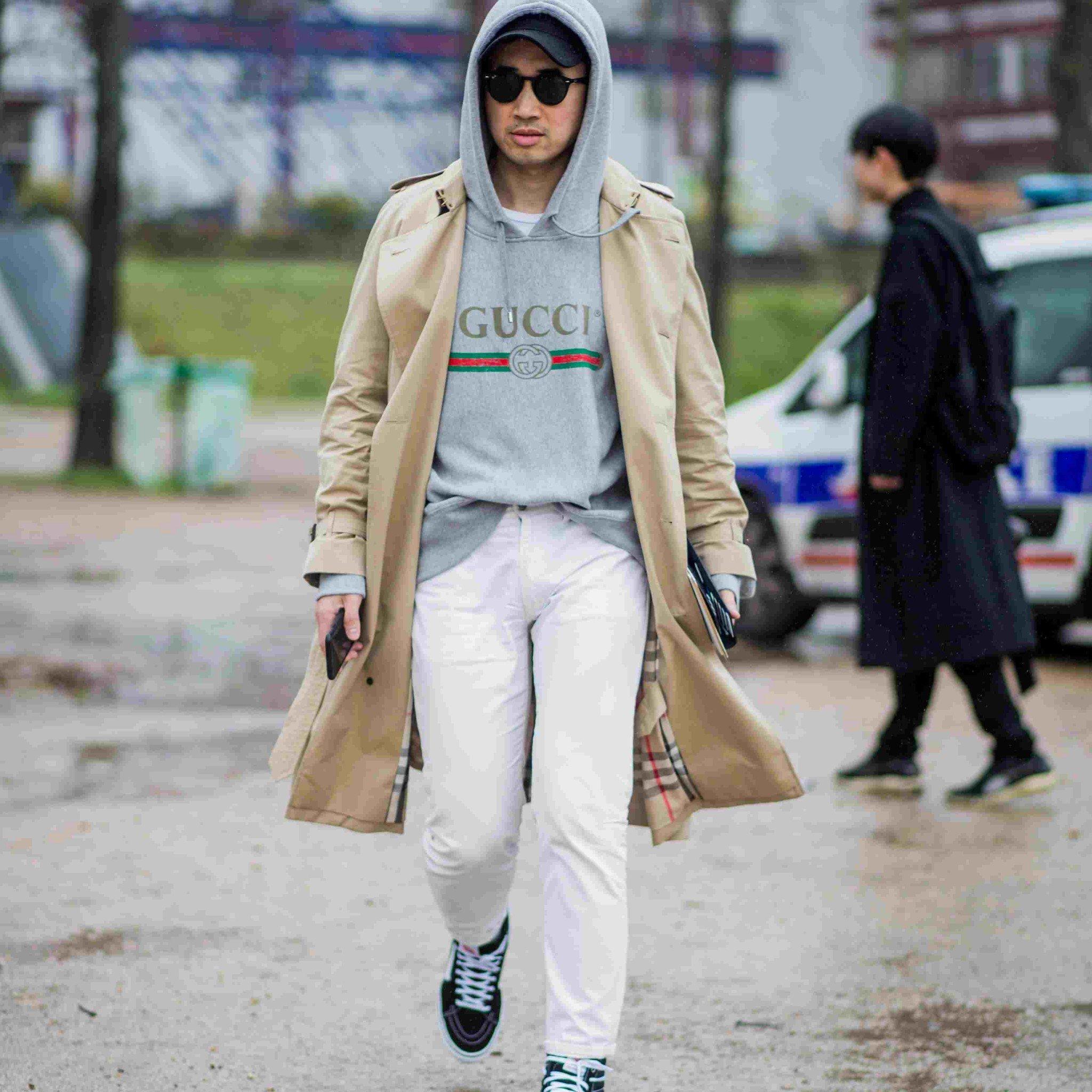 Phối đồ với quần jeans trắng 6