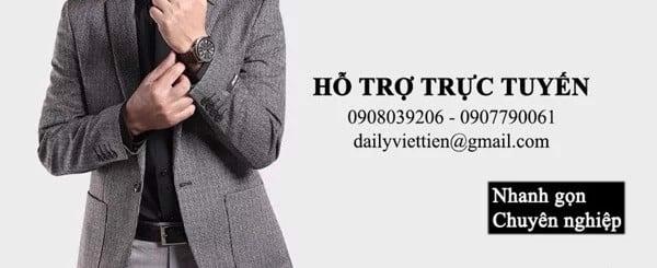 Đại lý Việt Tiến chuyên sỉ lẻ quần áo công sở nam
