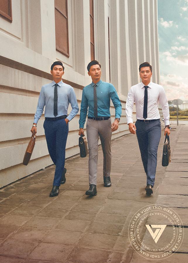 Top 5 màu áo sơ mi Việt Tiến may mắn cho dịp Tết Nguyên Đán 10
