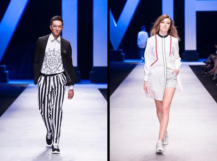 Việt Tiến Việt Nam International Fashion Week 2019 số 1