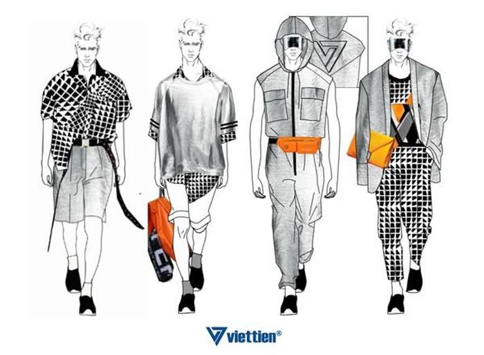 Việt Tiến Việt Nam International Fashion Week 2019 số 4