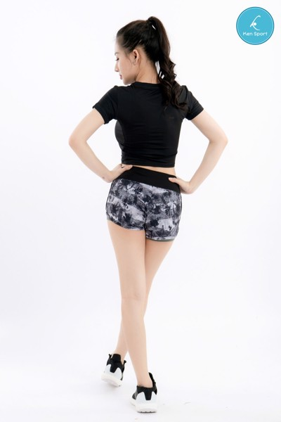 Áo croptop tập gym yoga nữ