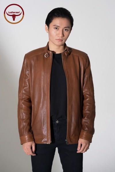 áo khoác da thật