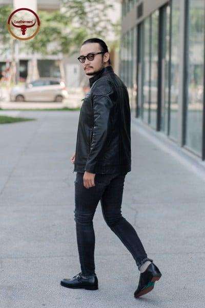 áo racer jacket