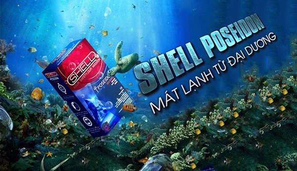 bao cao su shell poisedon