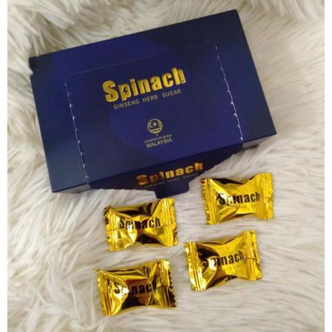 kẹo sâm tăng cường sinh lý spinach
