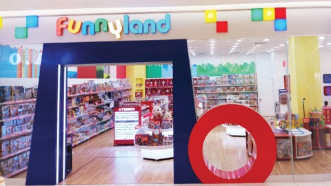 Funnyland Aeon Mall Long Biên