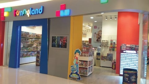 Funnyland Crescent Mall