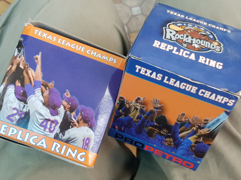 nhẫn mỹ Texas league champs