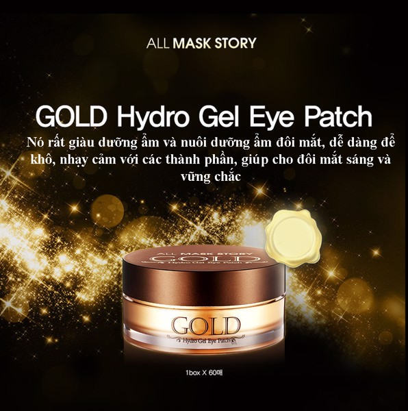 All Mask Story Gold Hydro Gel Eye Patch