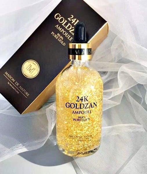 Tinh chất ampoule 24k goldzan có thật sự tốt