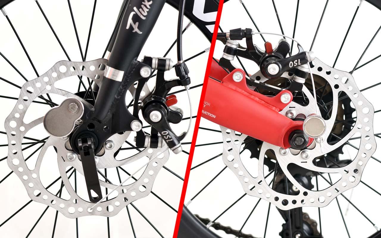 phanh xe đạp gấp fornix f160