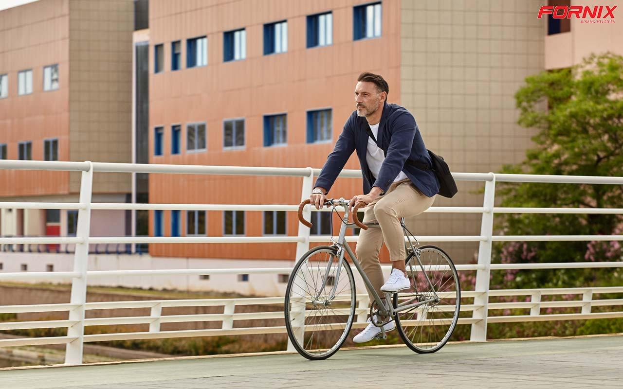 tâm trạng thoải mái khi đạp xe