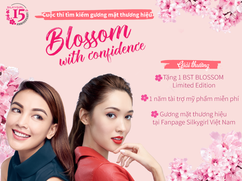 Cuộc Thi:  Silkygirl- Blossom With Confidence