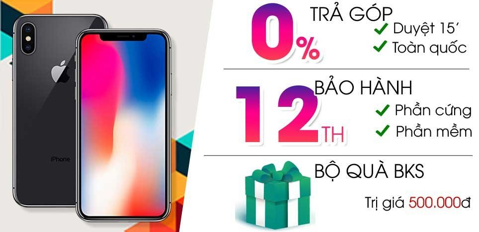 iPhone X 64GB (Cũ 99%)