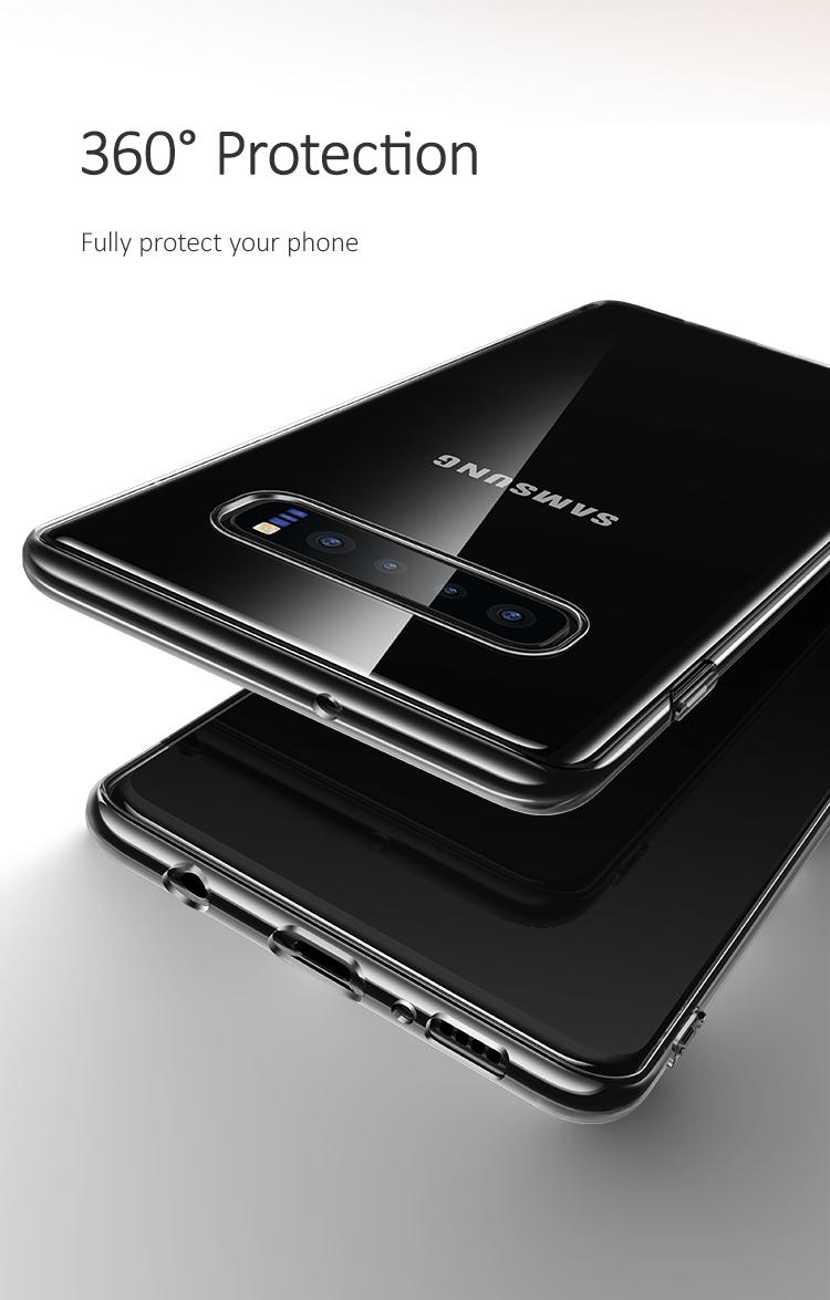 Ốp lưng trong suốt USAMS Samsung Galaxy S10 Primary Series mua ở đâu giá tốt
