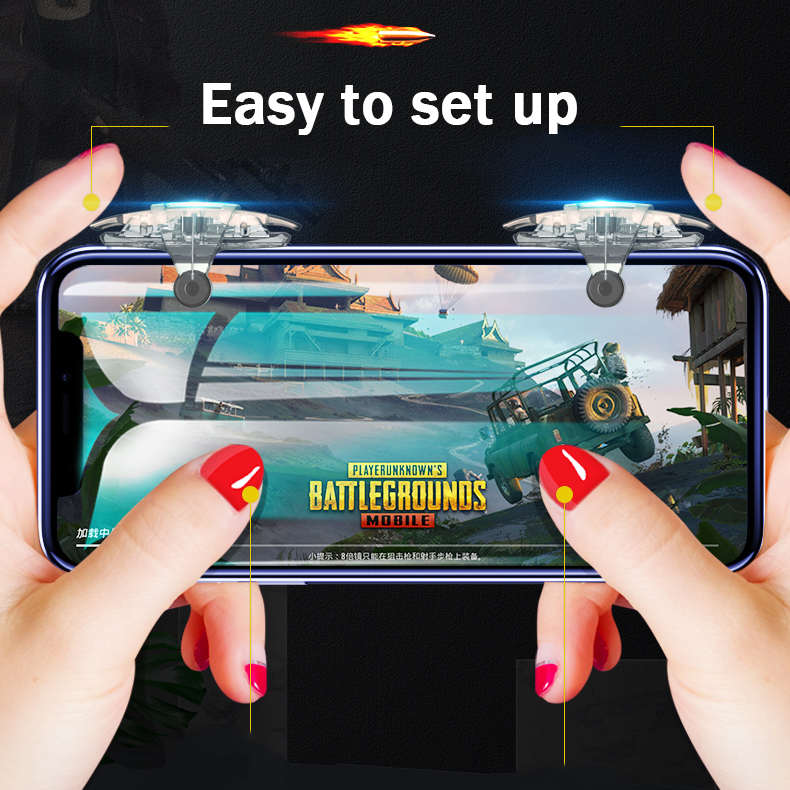 Nút bắn chơi game USAMS US-JD065 PUBG Gaming Shooter Controller