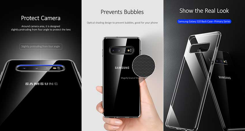 Ốp lưng trong suốt USAMS Samsung Galaxy S10 Lite Primary Series mua ở đâu giá tốt