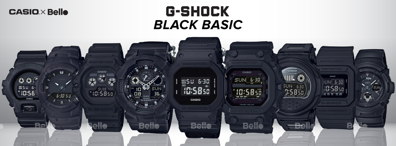 G-Shock Black Basic