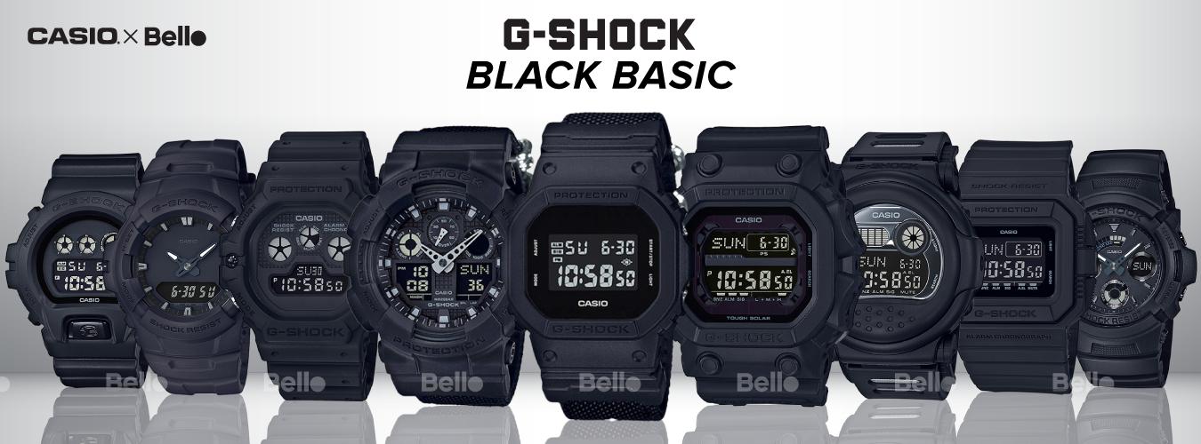 G-Shock Black Basic