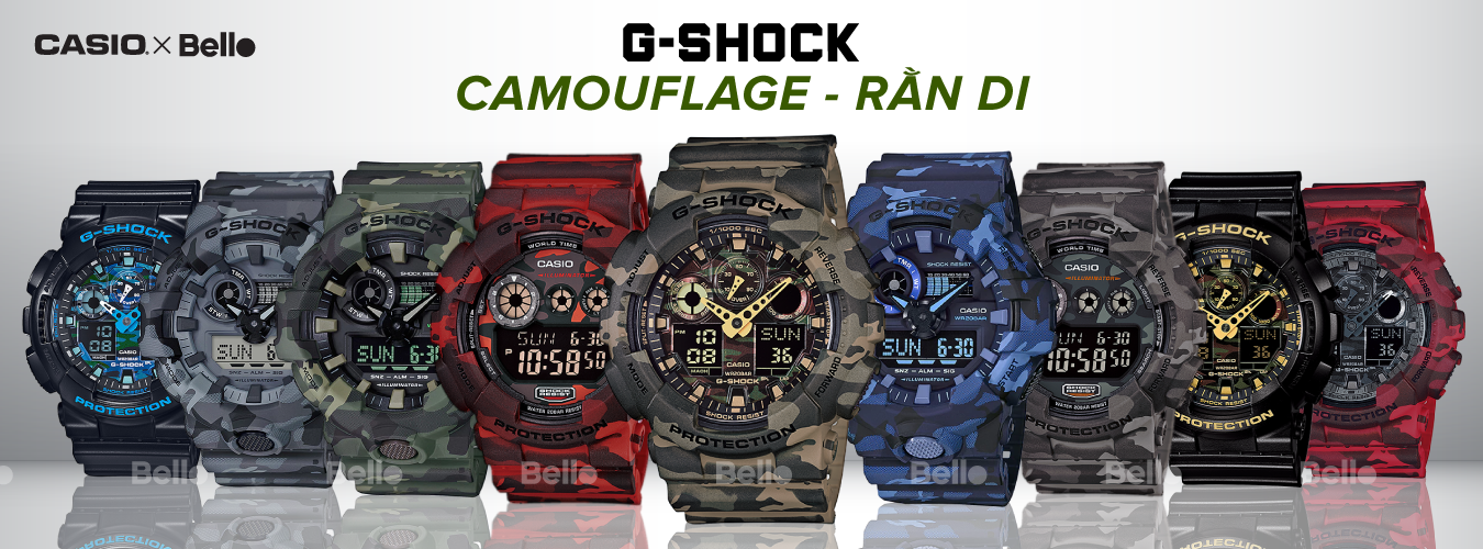 G-Shock Camouflage