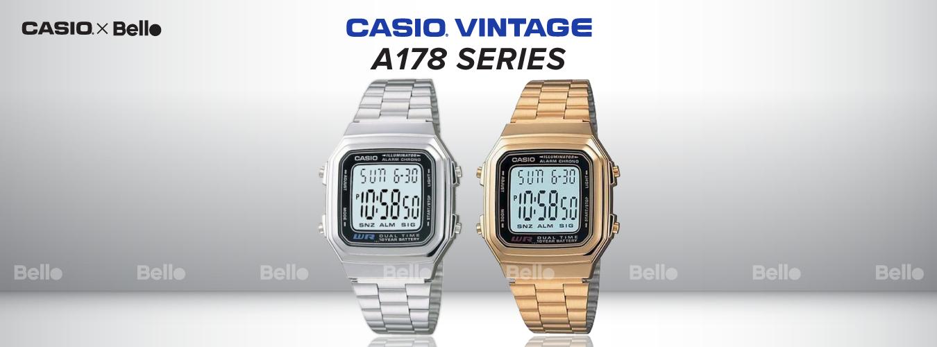 Casio Vintage A178 Series