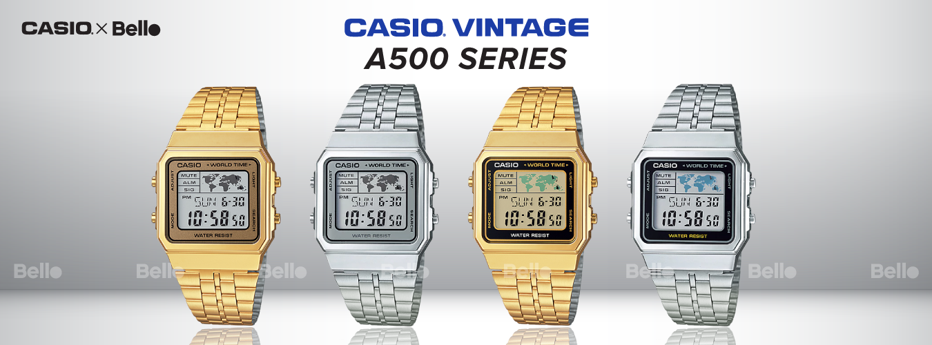 Casio Vintage A500 Series