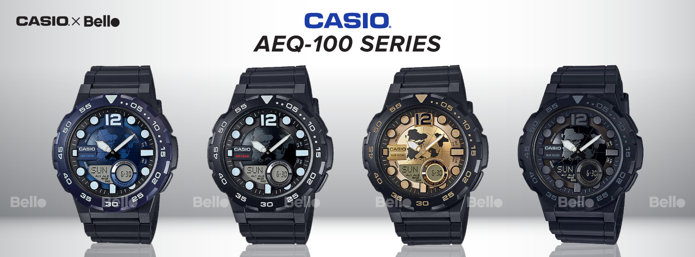 Casio Standard AEQ-100 Series