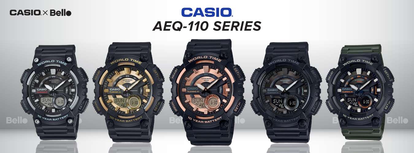 Casio Standard AEQ-110 Series