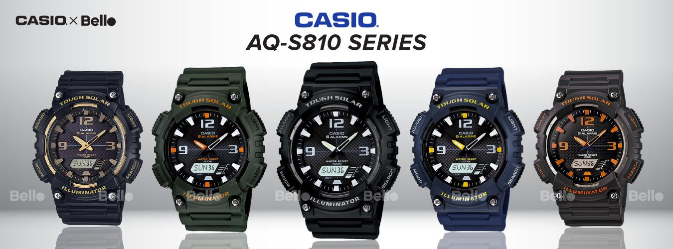 Casio Standard AQ-S810 Series