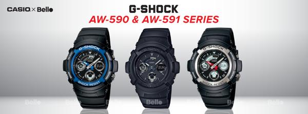 G-Shock Gia Re AW-590