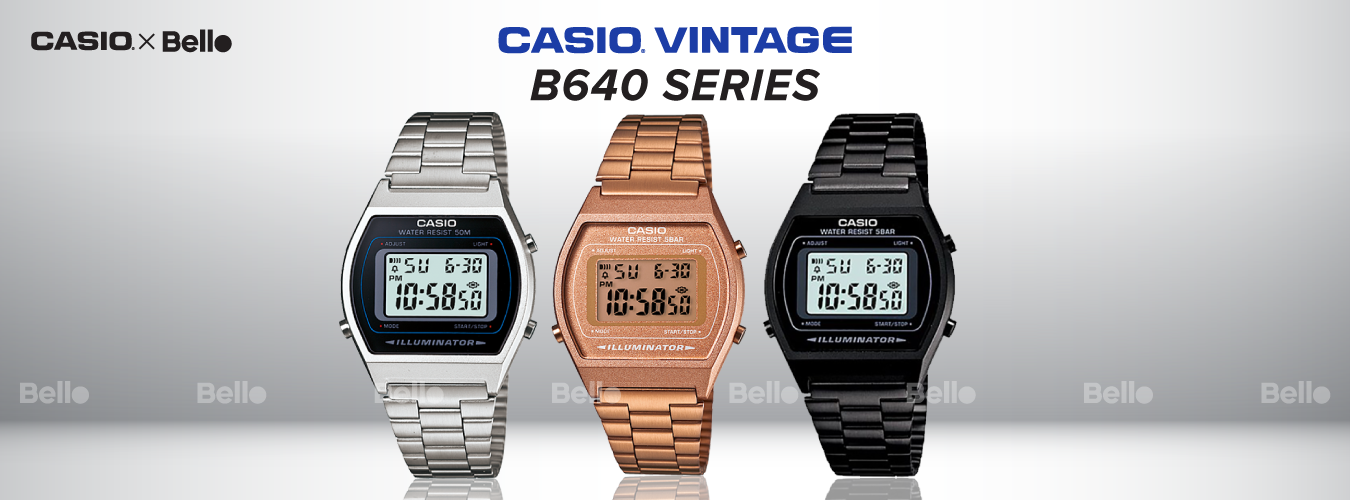 Casio Vintage B640 Series