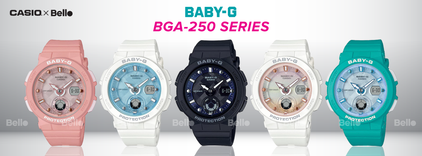Casio Baby-G BGA-250 Series