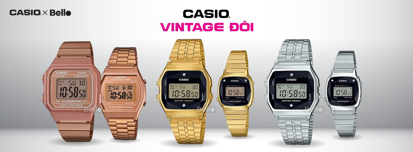 Casio Vintage Đôi