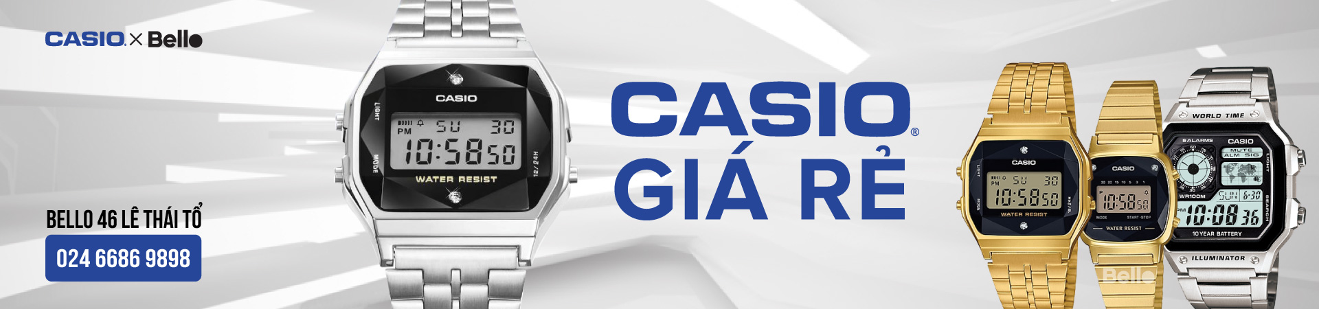 Casio Giá rẻ 2019