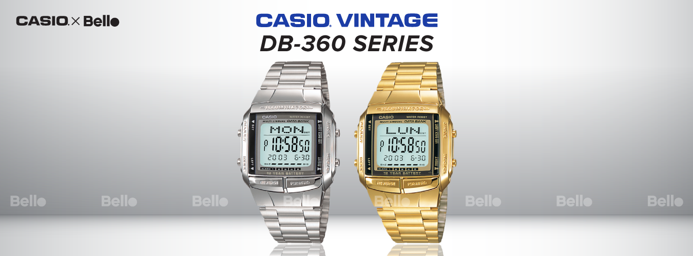 Casio Vintage DB-360 Series