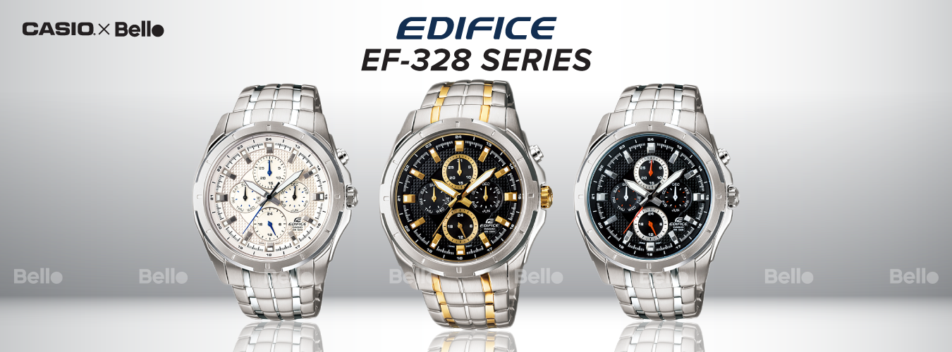 Casio Edifice EF-328 Series