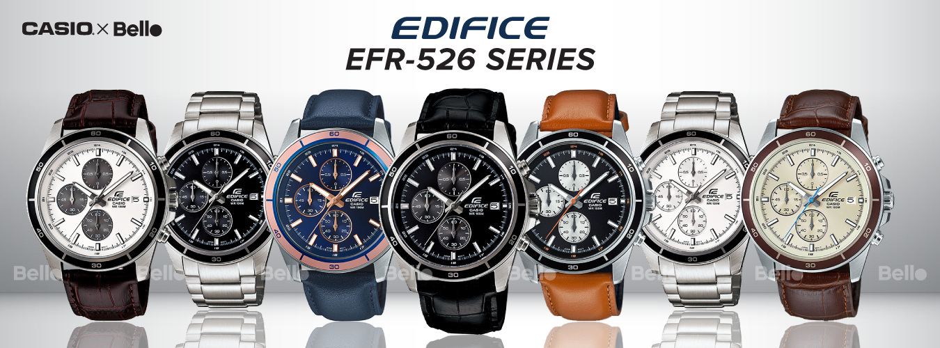 Casio Edifice EFR-526 Series